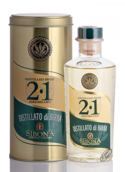 Sibona 2.1 Craft Bierbrand 38% vol. 0,50l