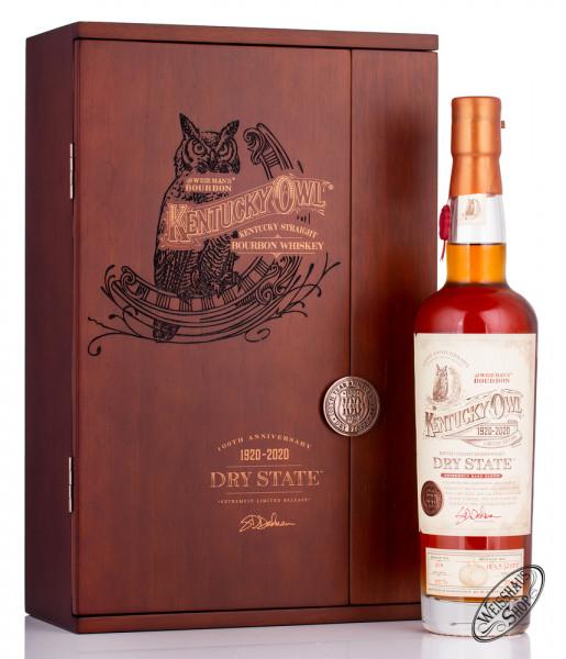 Kentucky Owl Dry State Bourbon Whiskey 50% vol. 0,70l