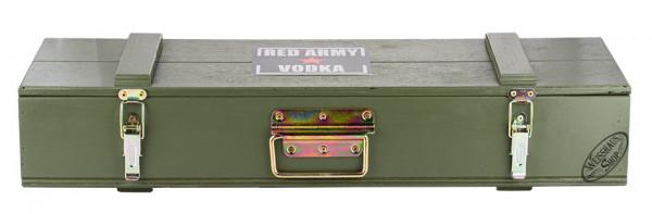 Red Army Kalashnikov Vodka in Holzkiste 40% vol. 1,20l