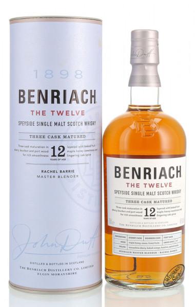 BenRiach The Twelve 12 YO Whisky 46% vol. 0,70l