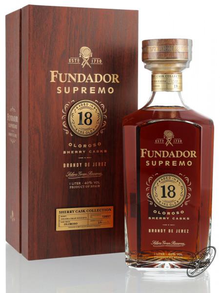 Fundador Supremo 18 YO Oloroso Brandy 40% vol. 1,0l