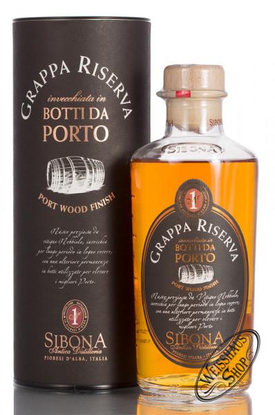 Sibona Grappa Riserva Porto 44% vol. 0,50l