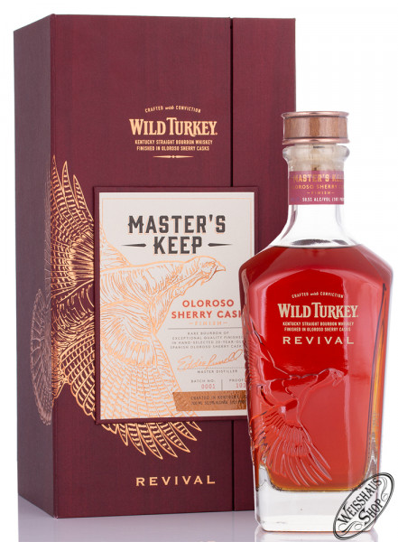 Wild Turkey Master's Keep Revival Bourbon Whiskey 50,5% vol. 0,70l
