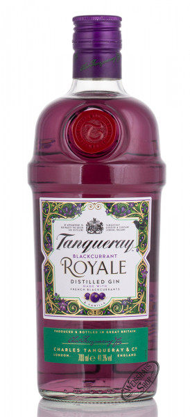 Tanqueray Blackcurrant Royale Gin 41,3% vol. 0,70l