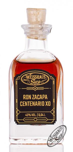 Ron Zacapa Centenario XO Rum 40% vol. 0,04l Weisshaus Sample