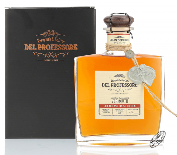 Del Professore Caroni Cask Finish Vermouth 17,8% vol. 0,50l