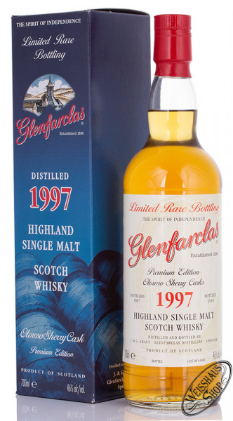 Glenfarclas Vintage 1997 Oloroso Sherry Whisky 46% vol. 0,70l