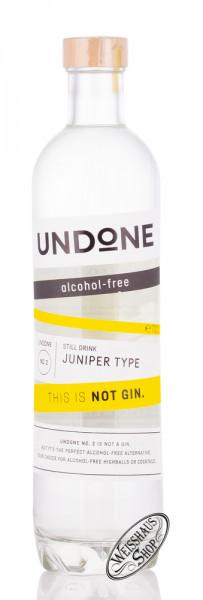 UNDONE No. 2 Juniper This is Not Gin! 0,70l