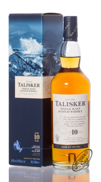 Talisker 10 Years Old Single Malt Scotch Whisky 45,8% vol. 0,20l