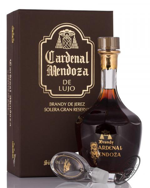 Cardenal Mendoza Solera Gran Reserva Brandy Decanter Deluxe 40% vol. 0,70l