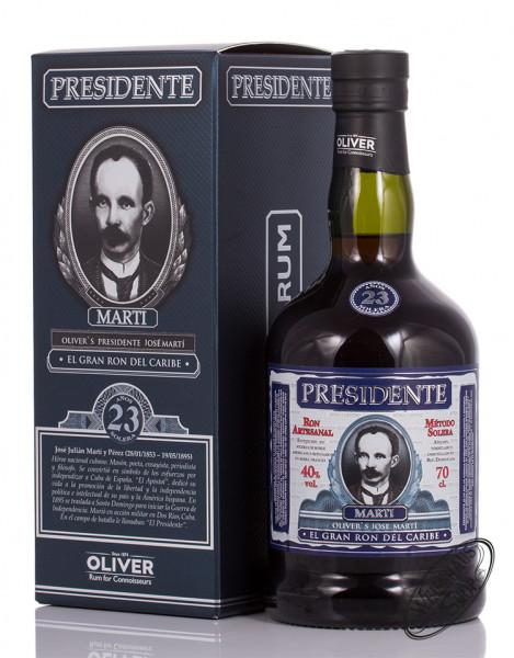 Presidente Marti 23 YO Rum 40% vol. 0,70l