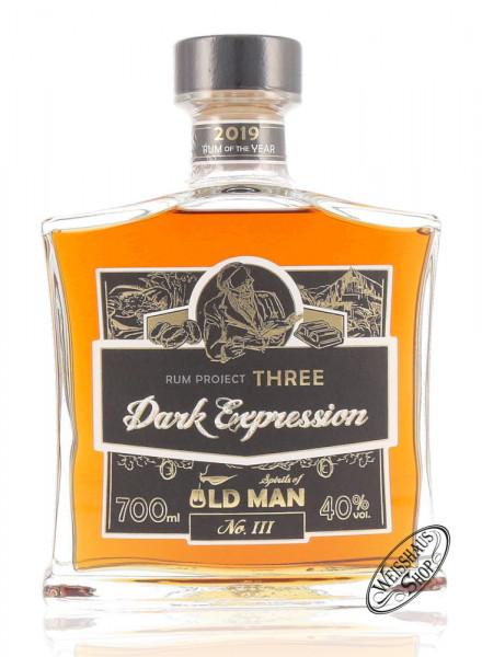 Old Man Dark Expression Spirit 40% vol. 0,70l