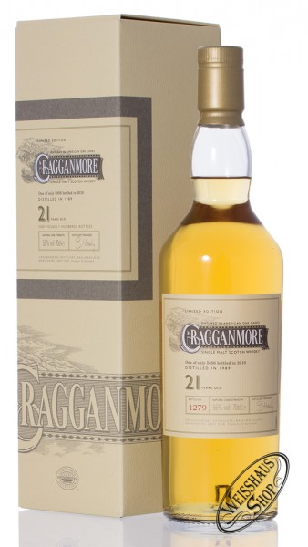 Cragganmore 21 Years Old Special Release 2010 Whisky 56% vol. 0,70l