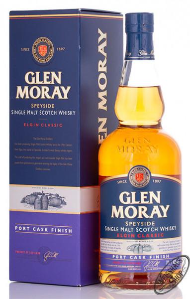 Glen Moray Port Cask Finish Whisky 40% vol. 0,70l