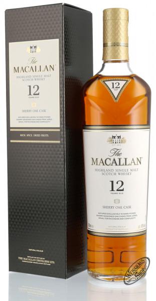 Macallan 12 YO Sherry Oak Triologie Whisky 40% vol. 0,70l