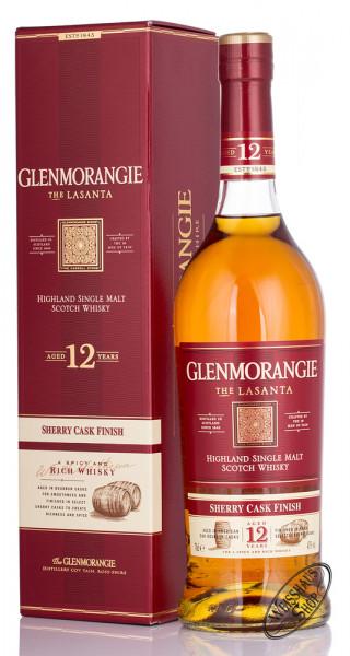 Glenmorangie Lasanta 12 YO Whisky 43% vol. 0,70l