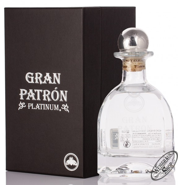Gran Patron Platinum Tequila 40% vol. 0,70l
