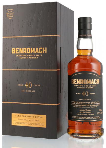 Benromach 40 YO Single Malt Whisky 57,1% vol. 0,70l