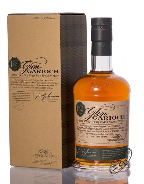 Glen Garioch 12 YO Single Malt Whisky 48% vol. 0,70l