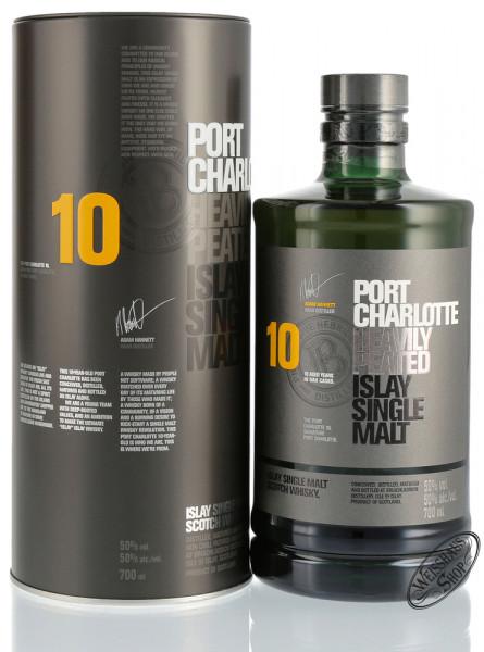 Port Charlotte 10 YO Islay Whisky 50% vol. 0,70l