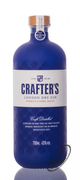 Crafter's London Dry Gin 43% vol. 0,70l