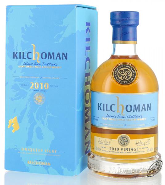 Kilchoman Vintage 2010 Islay Whisky 48% vol. 0,70l