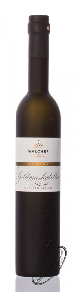 Walcher Grappa Goldmuskateller 40% vol. 0,50l