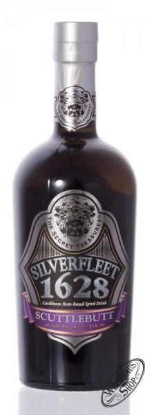 The Secret Treasures Scuttlebutt Silverfleet 1628 40% vol. 0,50l