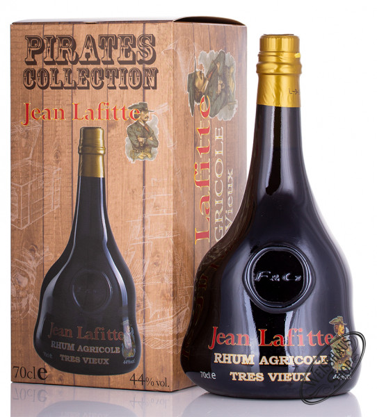 Pirates Legend Collection Jean Lafitte Rhum 44% vol. 0,70l