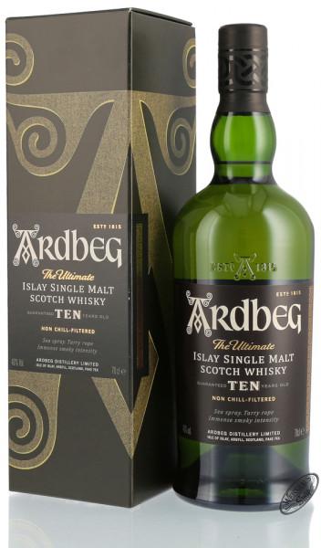Ardbeg Ten 10 YO Islay Single Malt Whisky 46% vol. 0,70l