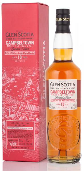 Glen Scotia 10 YO Campbeltown Cask Strength Whisky 56,1% vol. 0,70l
