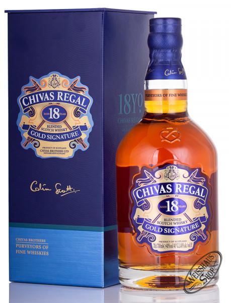 Chivas Regal 18 YO Blended Scotch Whisky 40% vol. 0,70l