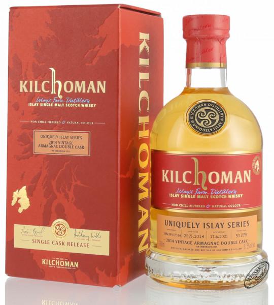 Kilchoman Vintage 2014 Armagnac Cask Islay Whisky 57,5% vol. 0,70l