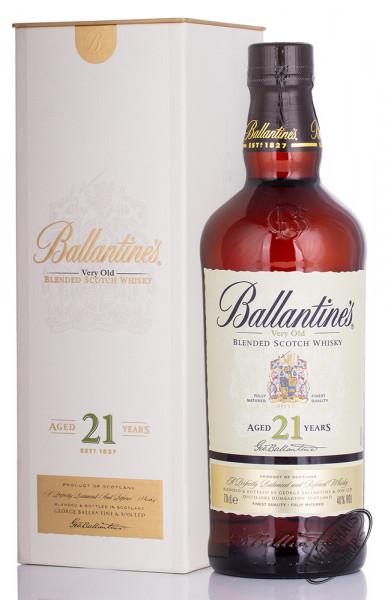 Ballantine's 21 YO Blended Scotch Whisky 40% vol. 0,70l