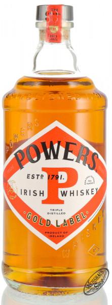 Powers Gold Label Irish Whiskey 40% vol. 0,70l