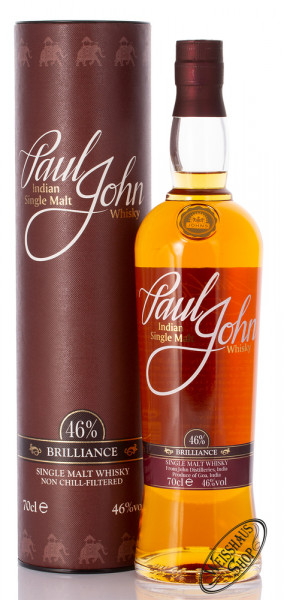Paul John Brilliance 46% vol. 0,70l