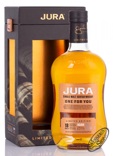Isle Of Jura Just one for you 18 YO Whisky 52,5% vol. 0,70l