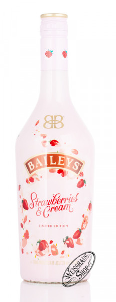 Baileys Strawberries & Cream Likör 17% vol. 0,70l