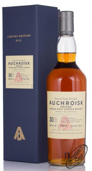 Auchroisk 30 YO Special Release 2012 Whisky 54,7% vol. 0,70l