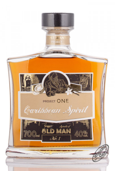 Old Man Project One Carribbean Spirit 40% vol. 0,70l