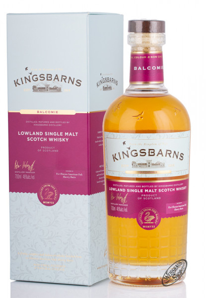 Kingsbarns Balcomie Sherry matured Whisky 46% vol. 0,70l
