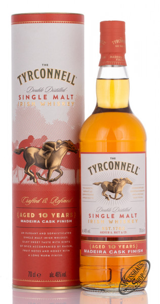 Tyrconnell 10 YO Madeira Cask Finish Whiskey 46% vol. 0,70l