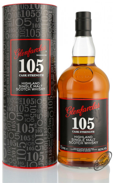 Glenfarclas 105 Single Malt Whisky 60% vol. 1,0l