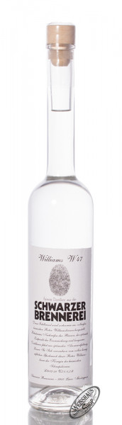 Schwarzer Williams W47 Edelbrand 48% vol. 0,50l