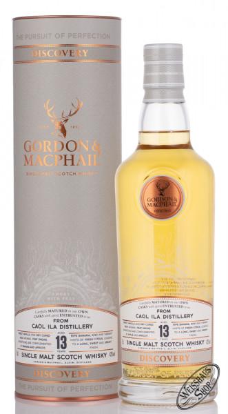 Caol Ila 13 YO G&M Discovery Whisky 43% vol. 0,70l