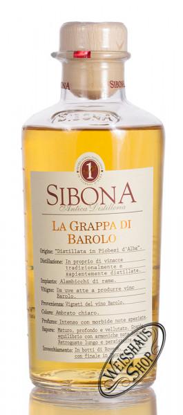 Sibona Grappa Barolo 40% vol. 0,50l
