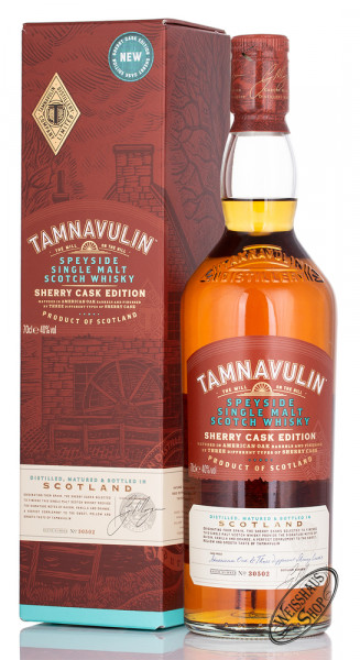 Tamnavulin Sherry Cask Edition Whisky 40% vol. 0,70l