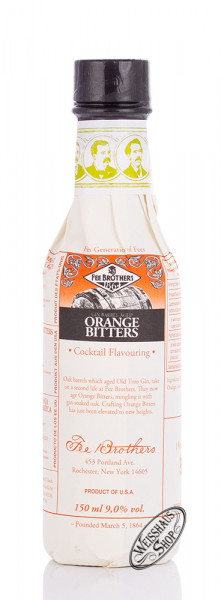 Fee Brothers Gin Barrel Aged Orange Bitters 9% vol. 0,15l