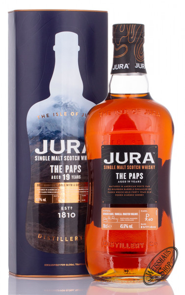 Isle Of Jura 19 YO The Paps Whisky 45,6% vol. 0,70l
