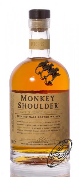 Monkey Shoulder Blended Malt Whisky 40% vol. 0,70l
